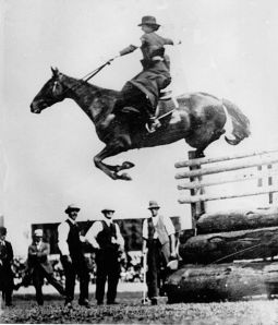 "Esther Stace cleared a record 6'6"" at the Sydney Royal Show in Australia in 1915 riding sidesaddle. Photo source: Walcha Historical Society."