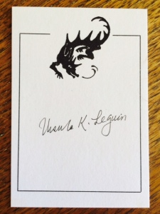Le Guin Bookplate