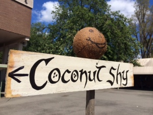 Lost Trades Fair - coconut shy