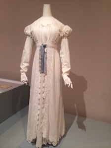 Pelisse and dress (c. 1818).  Photo: adventures in biography