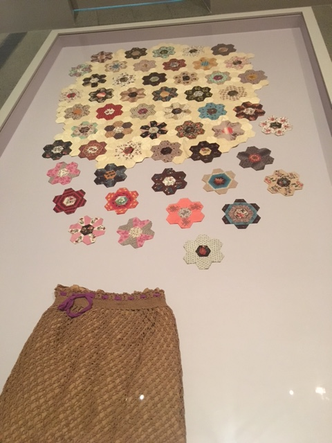 Lady Fitzroy Sewing Bag and Hexagons