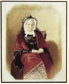 Elizabeth Macarthur in old age. Source: http://blogs.hht.net.au/cook/happy-birthday-elizabeth-macarthur/